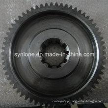 Engrenagem anelar industrial de aço carbono OEM