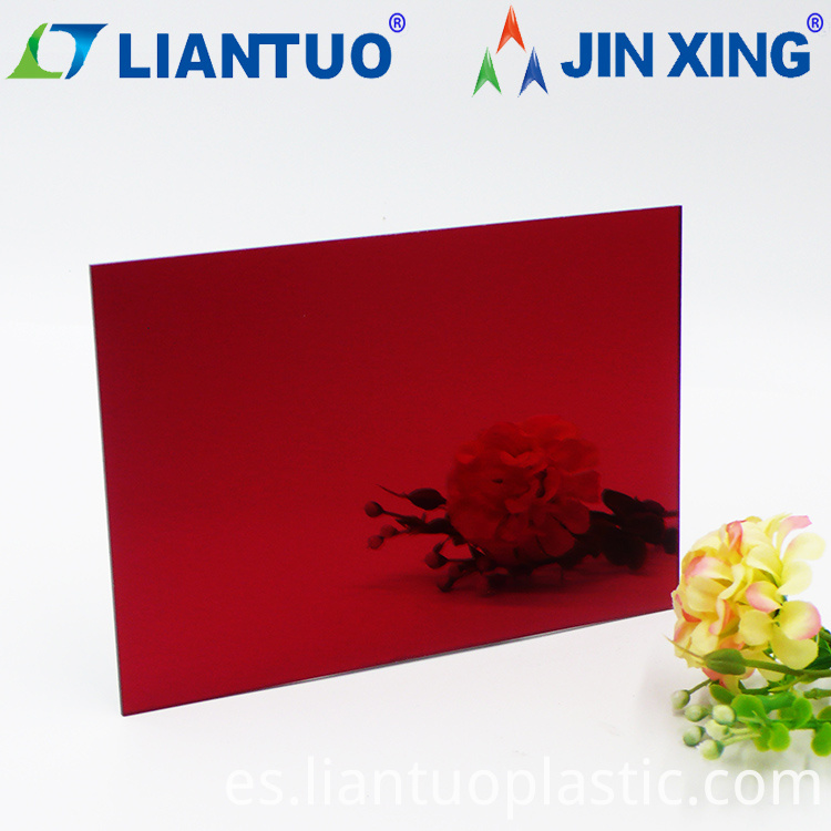 One Way Mirror Acrylic Sheets For Laser Cutting