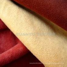 Составная полиэфирная ткань Knittes Suede для дивана