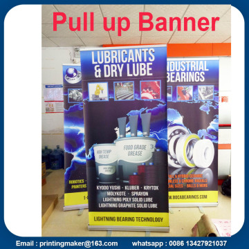 Tarik Aluminium Stand Retractable Printed Banner