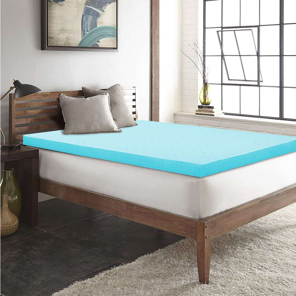 Memory Foam Mattress Topper 2 Inch King