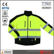 Hi Vis Garment Reflective Softshell Jacket
