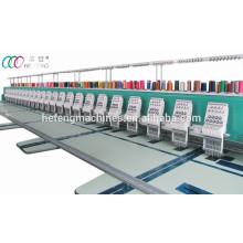 Высокоскоростная 24 головки Компьютеризированная плоская вышивальная машина с сервомотором