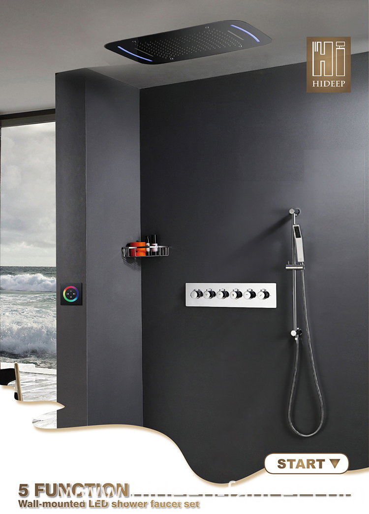 Chrome Mixer Shower