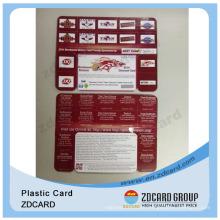 Plastic Contact Chip Cards/Plastic Card PVC/Plastic Memebership Card