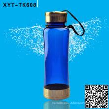 Garrafa de plástico 650ML, garrafa de água desportiva, garrafas de bebida