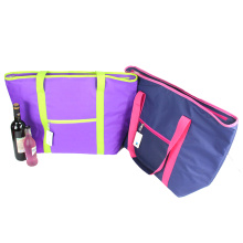Large Size Ice Pack Cooling Insulated Beach Bag