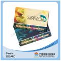 Tarjetas de fidelización de membresía Tarjetas de plástico de tiras magnéticas