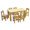 Quality inspection for Solid wooden table