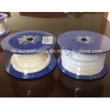 PTFE Emballage Tressé / Huile / Sans Huile / Fil Pure PTFE (SUNWELL)