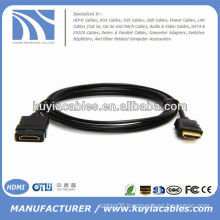 Premium HDMI male to HDMI female extension cable
