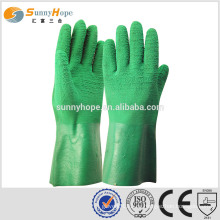 SUNNYHOPE Latex auf Palm Coated zurück offen Handschuhe Fabrik Handschuhe