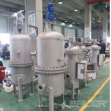 Filtro automático para sistema de água industrial de usina hidrelétrica