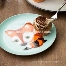 Fuchs Design Porzellan Dessertteller