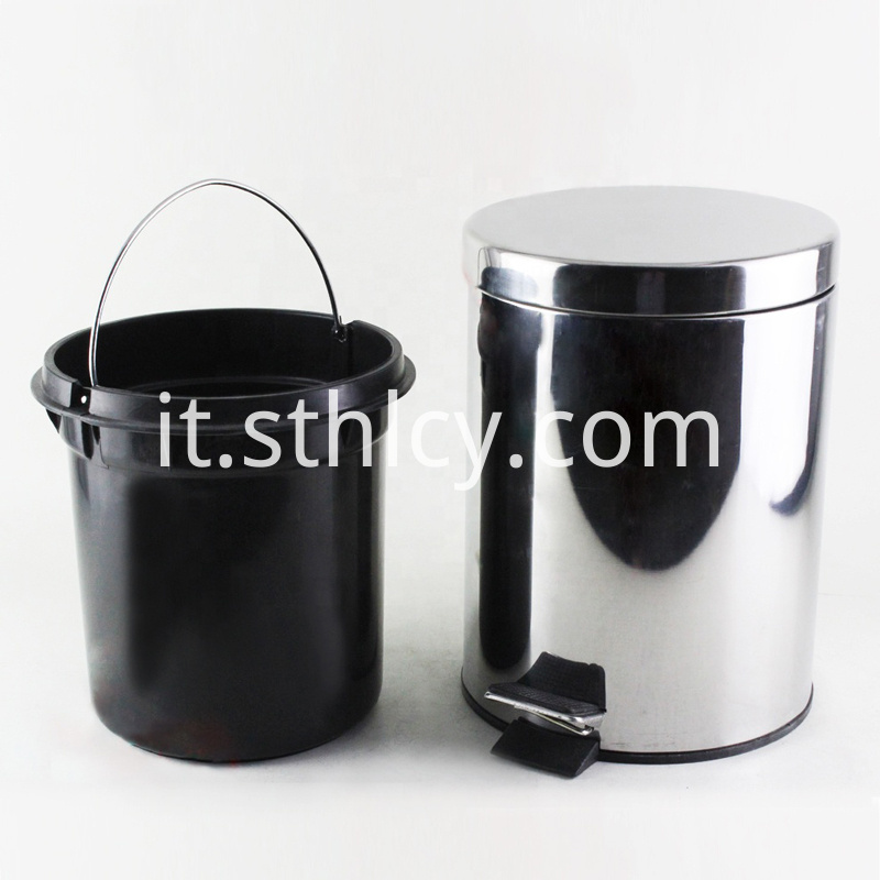 Household Stainless Steel Trash Can