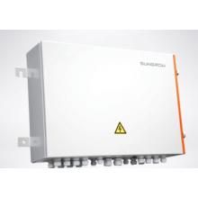Grand système de production d'électricité connecté à un réseau photovoltaïque