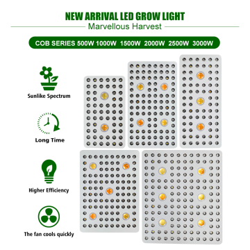 UE Stock Entrega rápida COB LED Grow Light