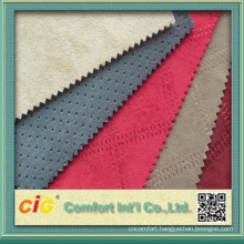 China High Quality 100% Polyester Bronzing Suede Fabric