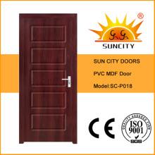 MDF puertas interiores de alta calidad