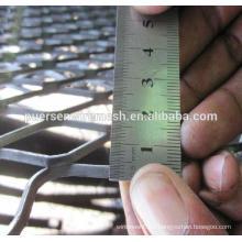 Aluminum alloy Expanded Metal raised mesh pieces