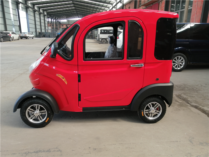 red Neighborhood Electric Vehicles