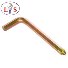Заводская Цена высокое качество шестигранный ключ с Покрынный цинк цвета