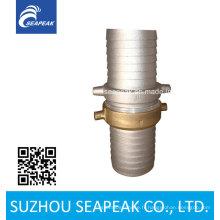Accouplement en tige de tuyau d'étanchéité en aluminium