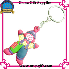 High Quality Plastic Key Chain with Customer Logo