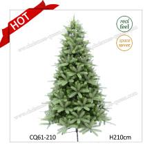 2017 Hot Wholesale PE Outdoor Plastic Christmas Decoration H120-300cm