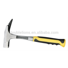 good quality TUV/GS 0.6KG one-piece roofing hammers with steel handle