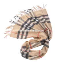 Inner Mongolia manufacturers produce wholesale wool cashmere blended fashionable men's scarf