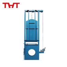 Funcionamiento manual de la compuerta de compuerta cuadrada Válvula / válvula de compuerta flotante