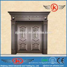 JK-C9028 hot sale luxury bronze villa door antique copper door design