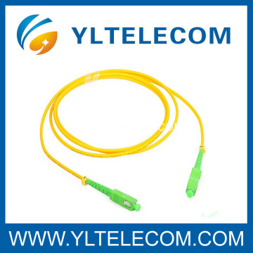 Cables de conexión de fibra óptica SC / APC Fan Out, SC Patch Cord Simplex