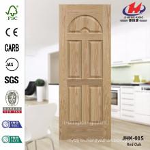 JHK-015 Mountain Grain Texture 8mm Depth Decorative Internal Moulded EV ASH Wood Veneer Laminate Door Skin