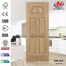 JHK-015 textura de grão de montanha profundidade de 8 mm decorativo interno moldado EV cinza madeira folheado pele porta