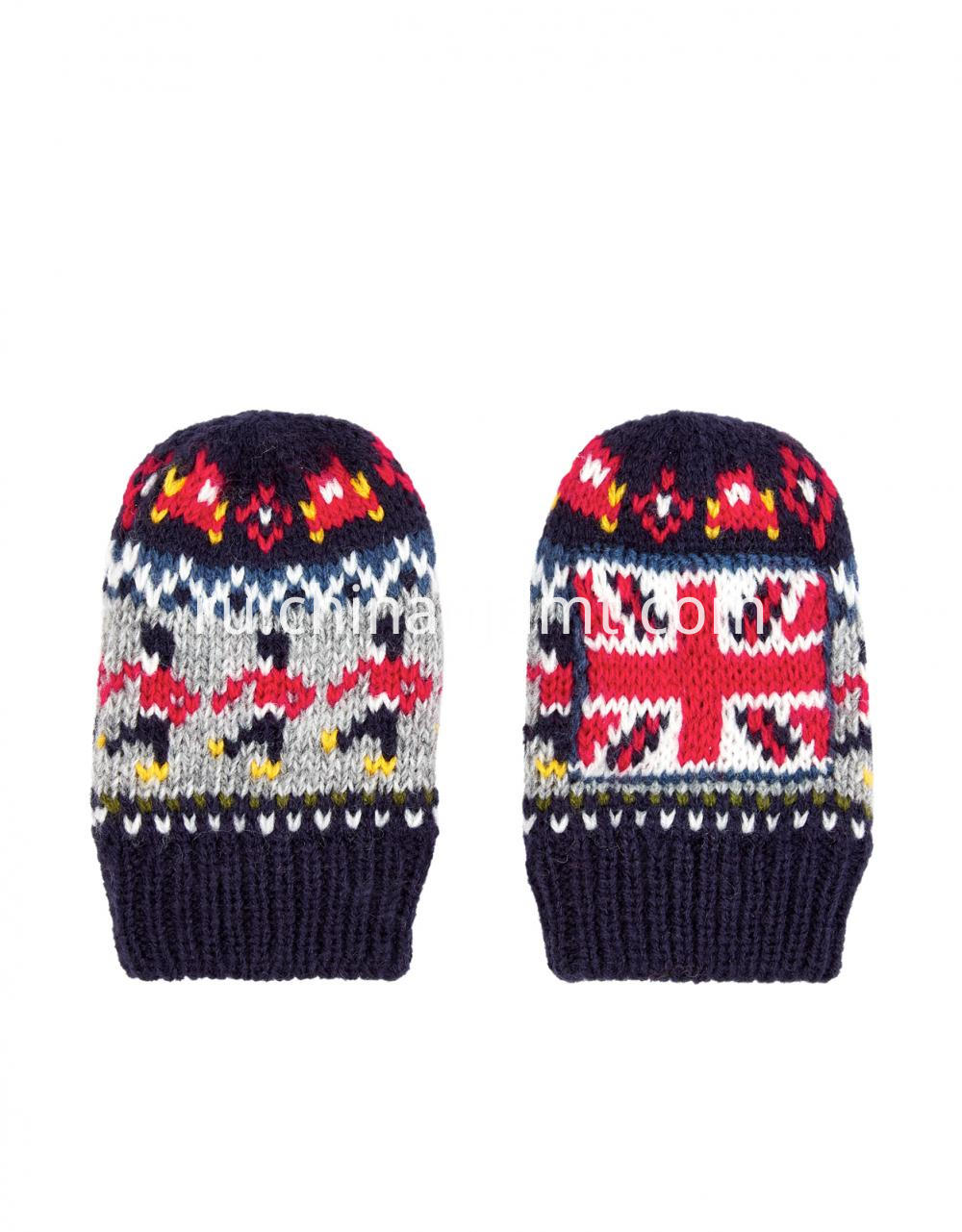 Baby Boy City Sights Mittens