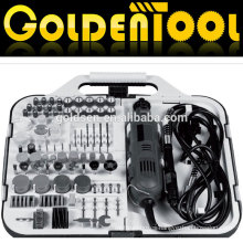 163pcs 135W for Mail Order With Flex Shaft Grinder Portable Hobby Rotary Tools Kit Accessory Set Electric Mini Grinding Tool