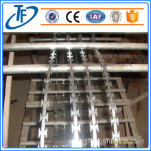 Wholesale welded straight line razor barbed wire