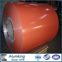 Orange Color 1060 Anodising Aluminum Coil