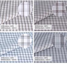 Ткань 100 хлопчатобумажная ткань текстильная мужская рубашка