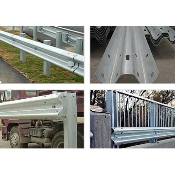 W Beam Guard Rails Roll formando máquina