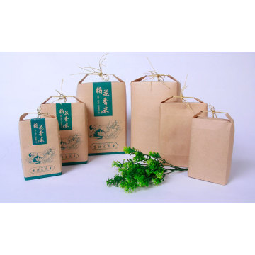 Standing Plastic Wheat Flour Packaging Bags