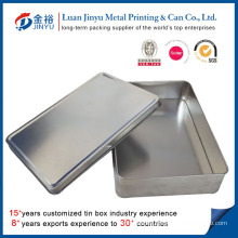Custom Printed Metal Packaging Tin Box No Printing