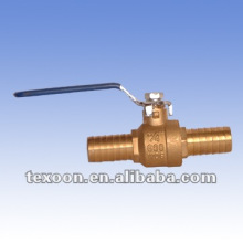 Water Connector Copper Ball Valves with standard port