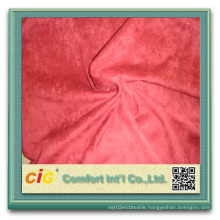 100% Polyester Suede Fabric for Upholstery Boots Suede