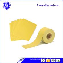 high quality abrasive paper jumbo roll/sandpaper/abrasive aanding sheet