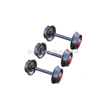 Nuevo fabricante de ruedas de vagones mineros