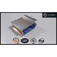Алюминиевый профиль для дверей Electrophoretic Shampange Цвет Shinny