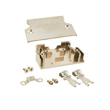 Geschirmte Backshell-Kits der Serie 1,27 mm 50P Straight Exit